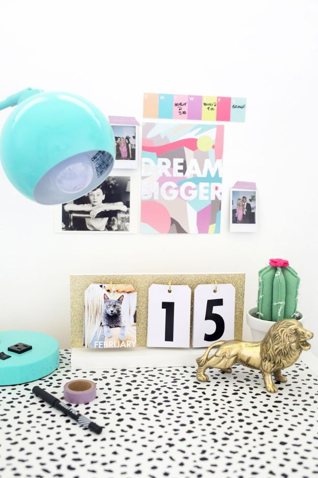Kalender Selber Basteln: tolle Überraschung für Ihre Freunde