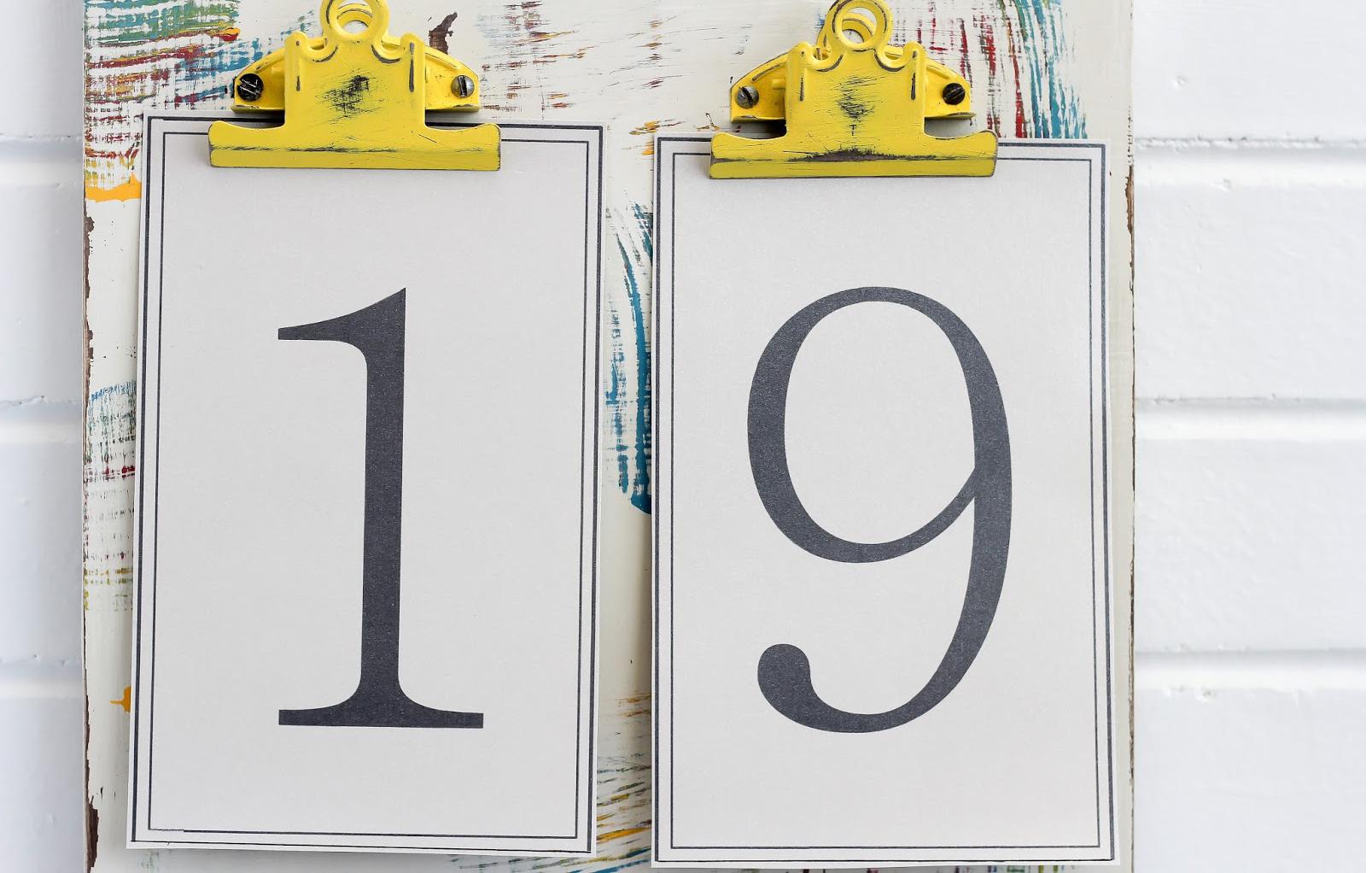 Kalender selber basteln: Anleitung Schritt 5