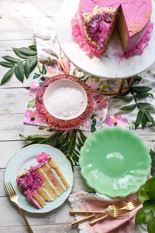 Kristall Torte selber machen - so geht`s einfach!