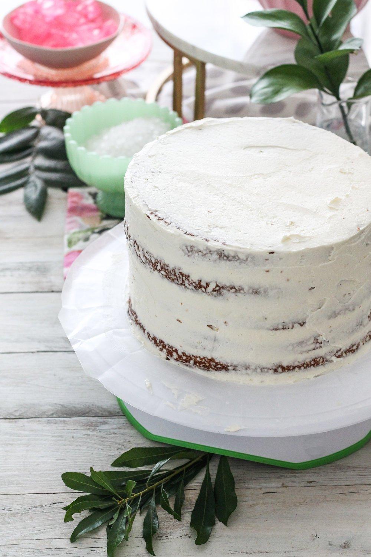 Hochzeitstorte selber machen - Kristall Torte DIY Anleitung