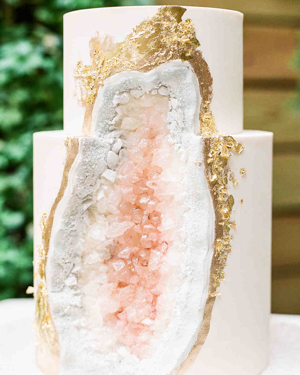 Hochzeitstorte selber backen - Kristall Torte selber machen