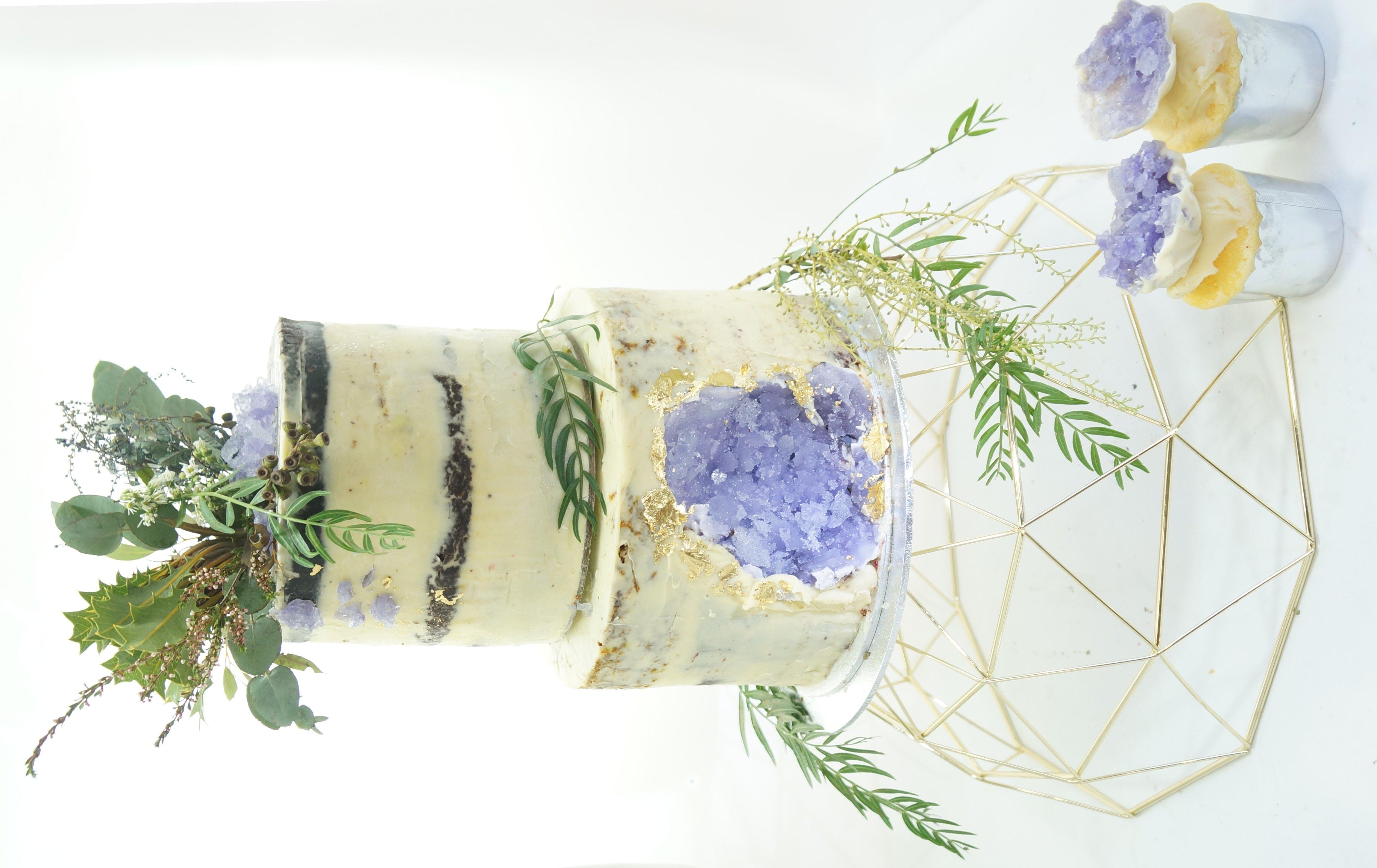 Naked Torte Kristall Torte