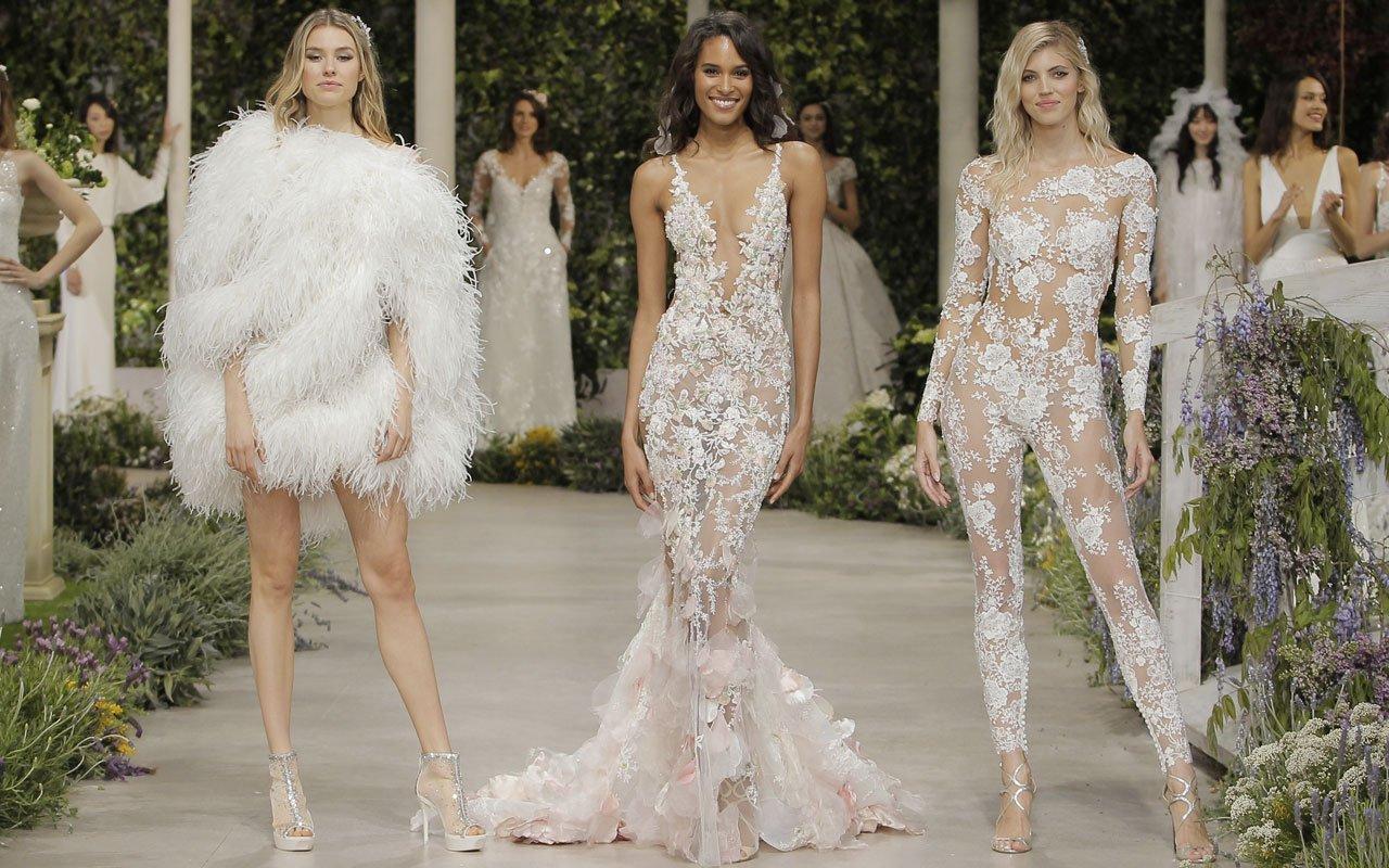 modische Hochzeitskleider extravagant 2019