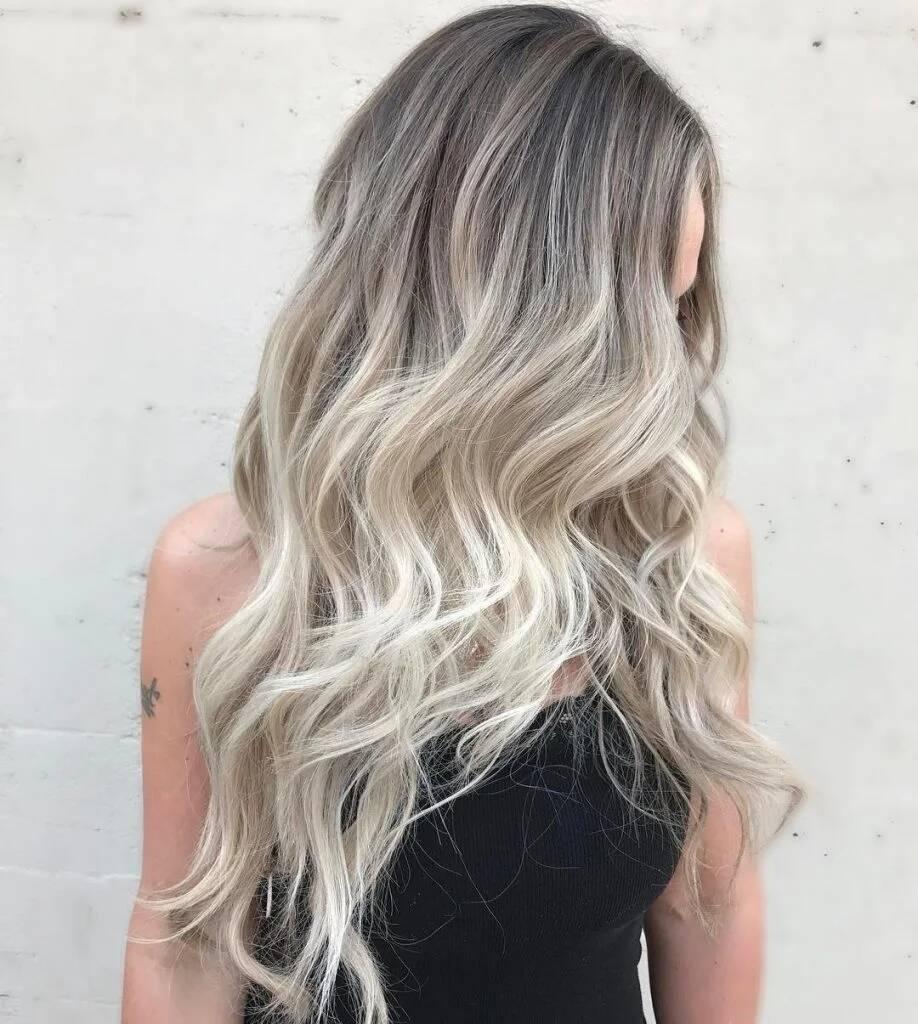 Ombre Grau ist der neue Trend beim Ombre Look