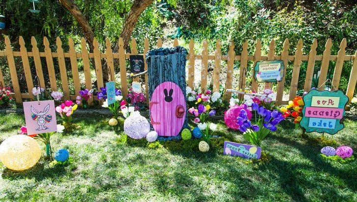 Osterdeko Garten für eine gute Laune