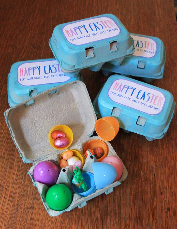 Ostergeschenke für Kinder - Basteln mit Kindern