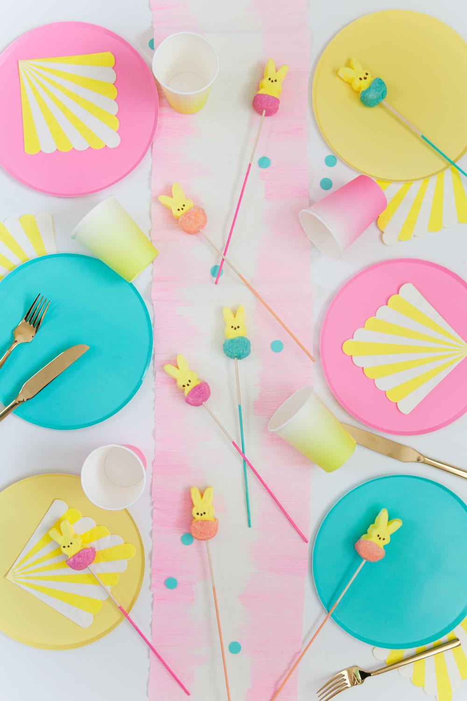 Ostertischdeko Ideen - bunte Ideen für Kinder