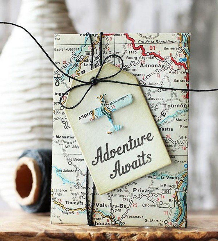 Reisegutschein selber basteln