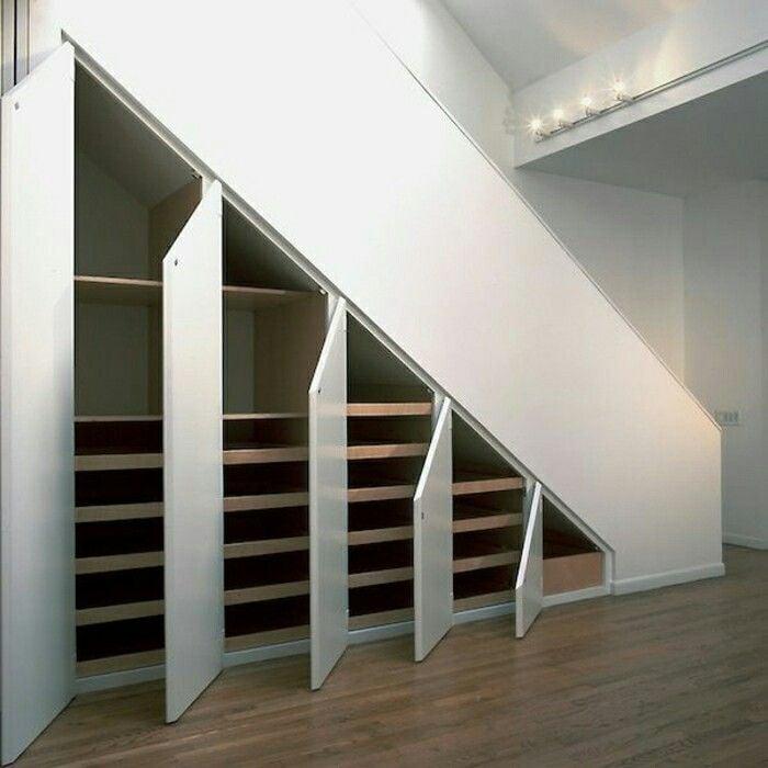 Schrank unter Treppe groß funktional