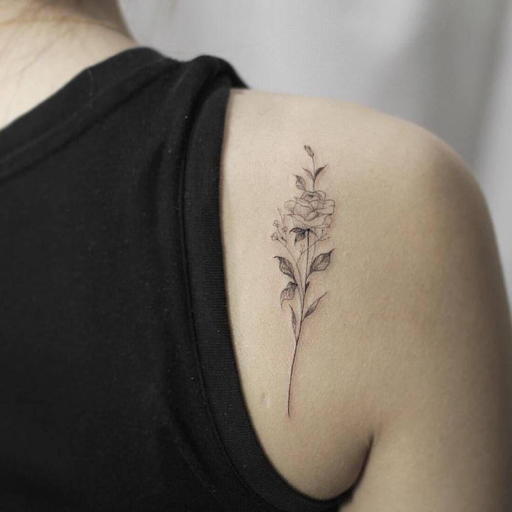 Schulter Tattoo Frau Tattoo Schulterblatt