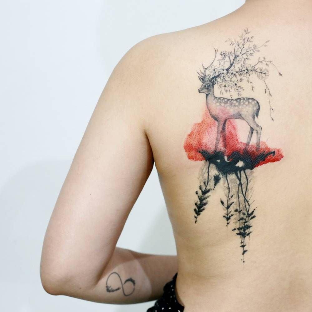 Tattoo Schulter Frau Tattoo Schulterblatt