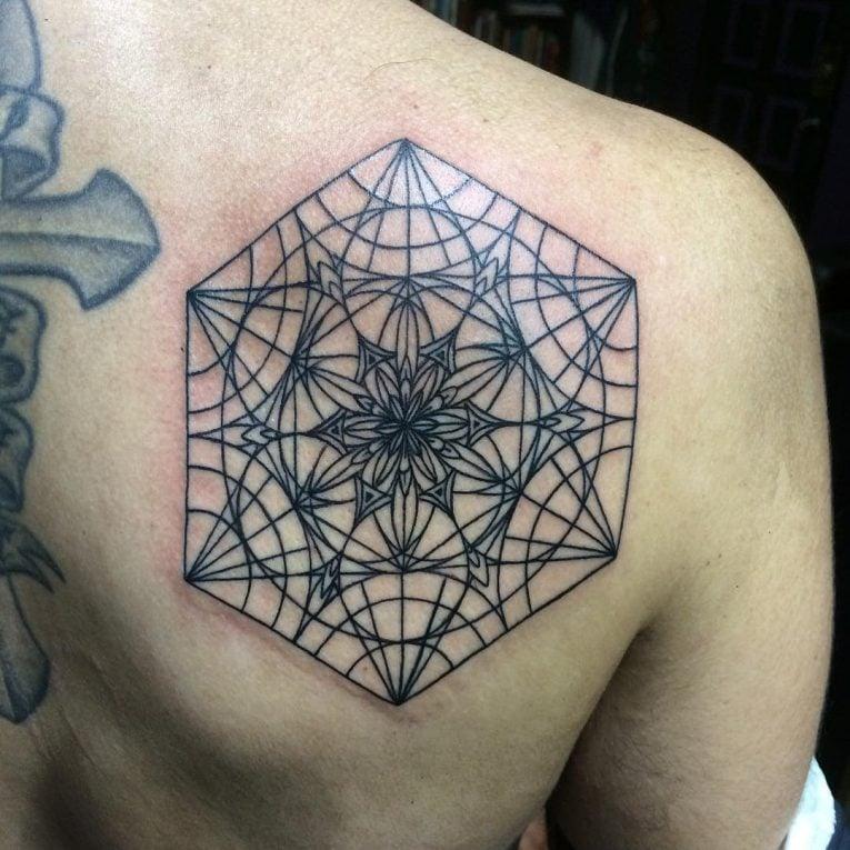 Tattoo Schulterblatt - Mandala Tattoo Unterarm Mann