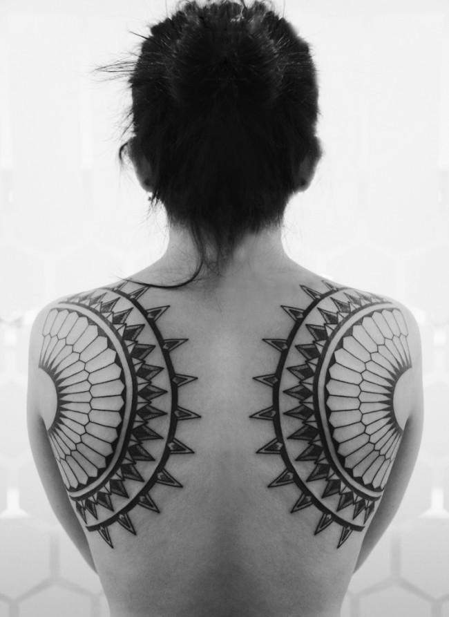 Tattoo Ideen Frauen Tattoo Schulterblatt