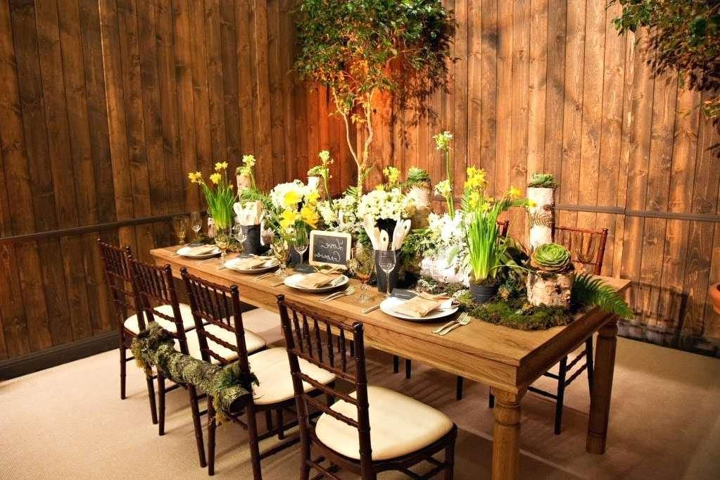Tischdeko Frühling: zauberisches Interior