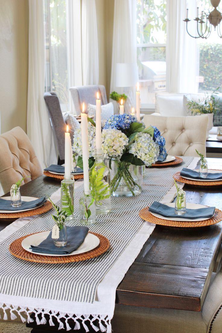 Tischdeko Frühling selbst gemacht: macht das Haus gemütlich