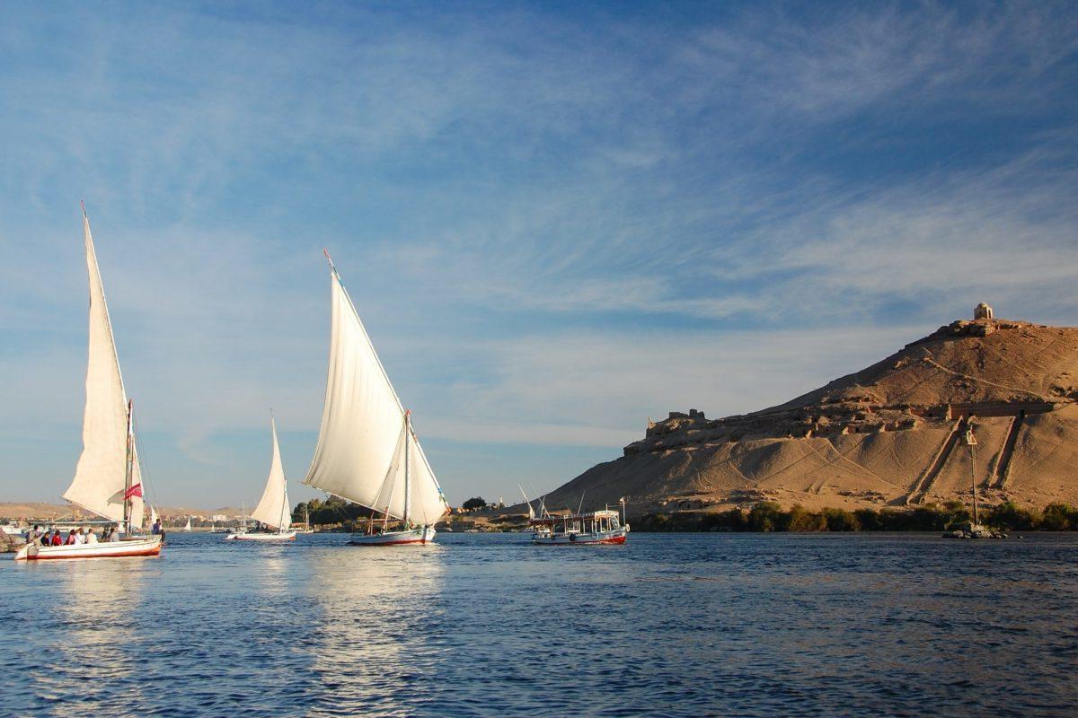 Urlaub in Ägypten: Segeln in Rotes Meer