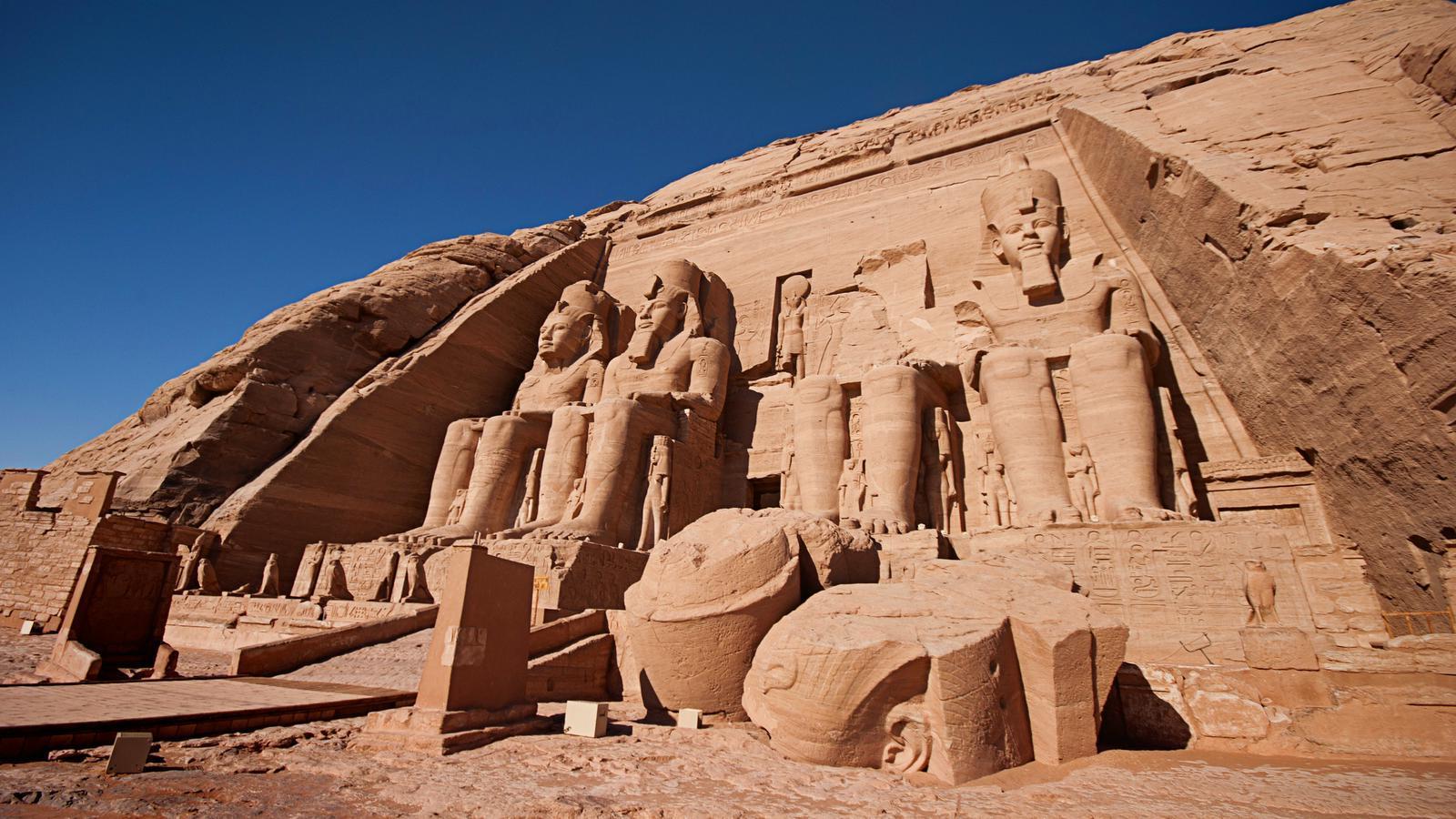Urlaub in Ägypten: Tempel des Pharao Ramses