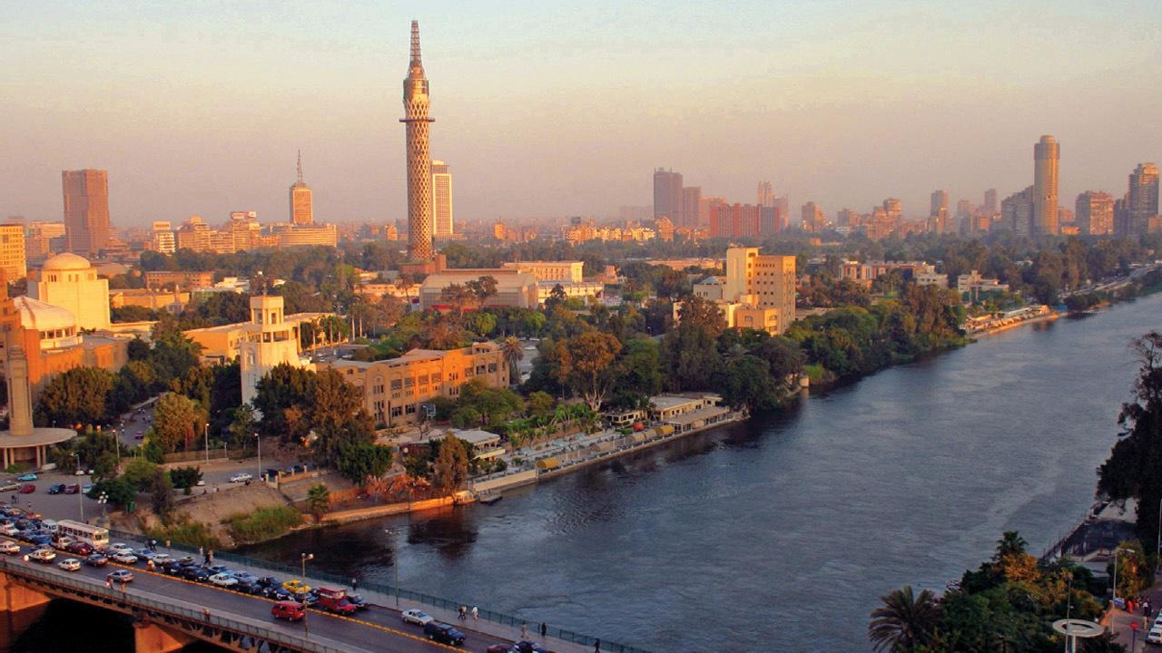 Urlaub in Ägypten: Kairo von oben