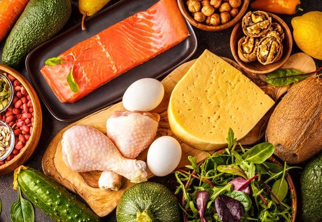 ketogene Diät Grundnahrungsmittel