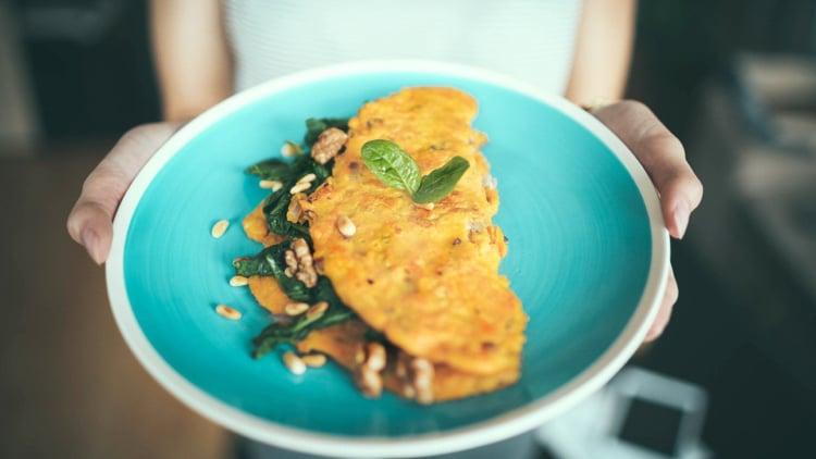 Diät Low Carb Omelett
