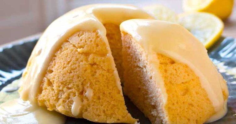Keto Gerichte schmackhafter Zitronenkuchen