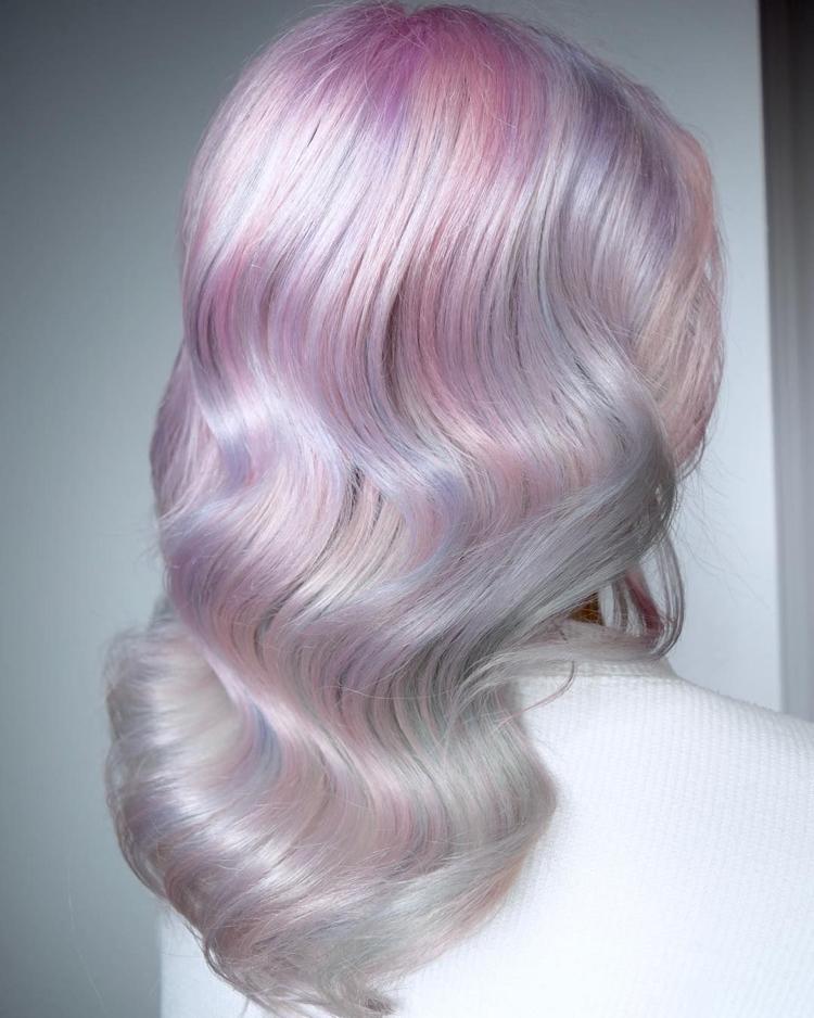 Opal Haare eindrucksvoller Look