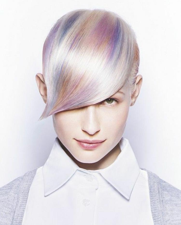 Haarfarben Trends 2019 Opal Haare