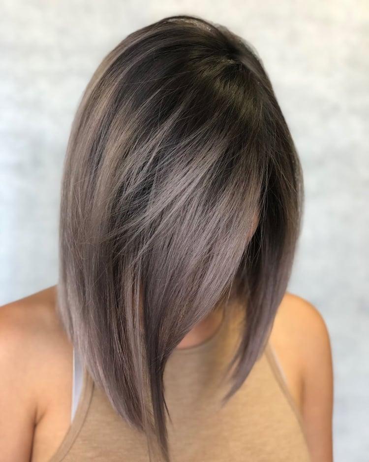 Haarfarben Trends 2019 Pilzbraun A Linie Bob