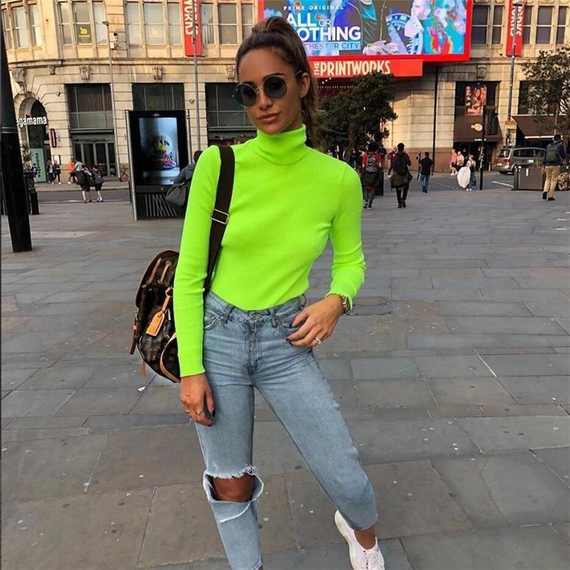 Neonfarben tragen modern 2019