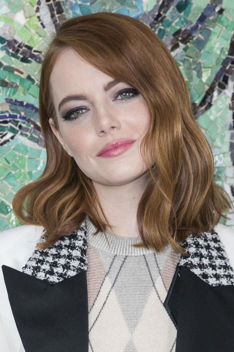 Haarfarben Trends 2019 Zimtbraun Emma Stone