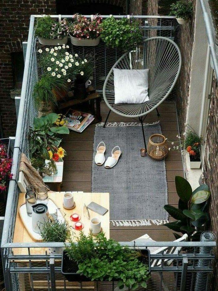Gestaltungsideen für einen kleinen Balkon