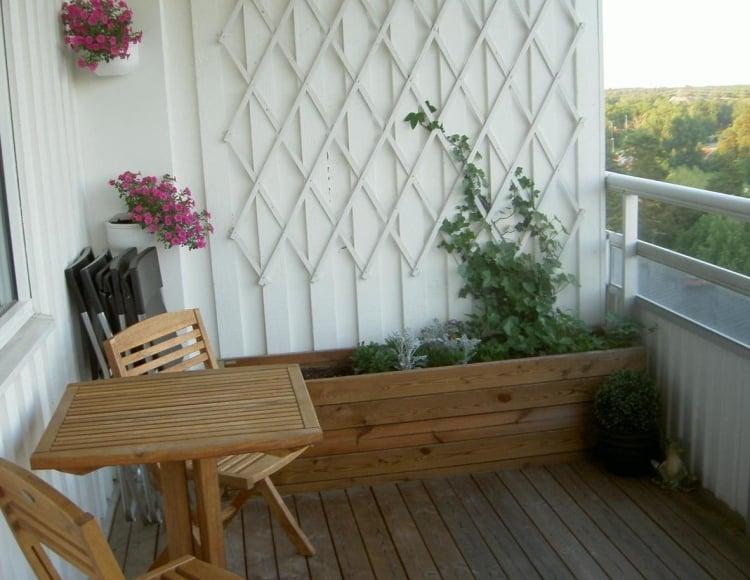 Wand für Kletterpflanzen