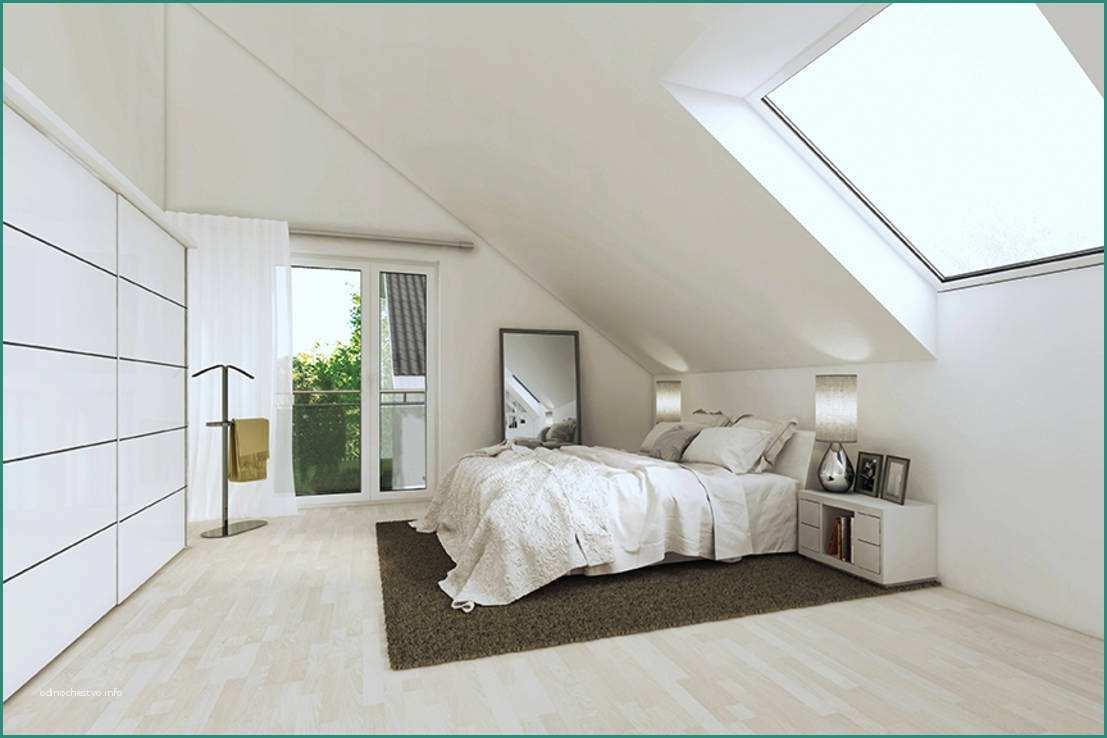 Schlafzimmer Weiß Dachgeschoss