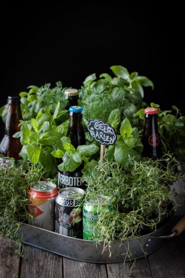 Einen Biergarten basteln und sooo viele Alternative!