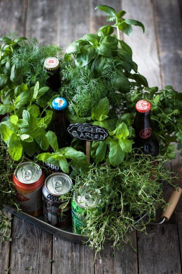 Biergarten basteln - das beste Vatertagsgeschenk zum Selbermachen