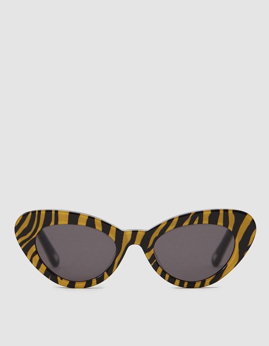 Brillen Trend 2019: Leopard Print