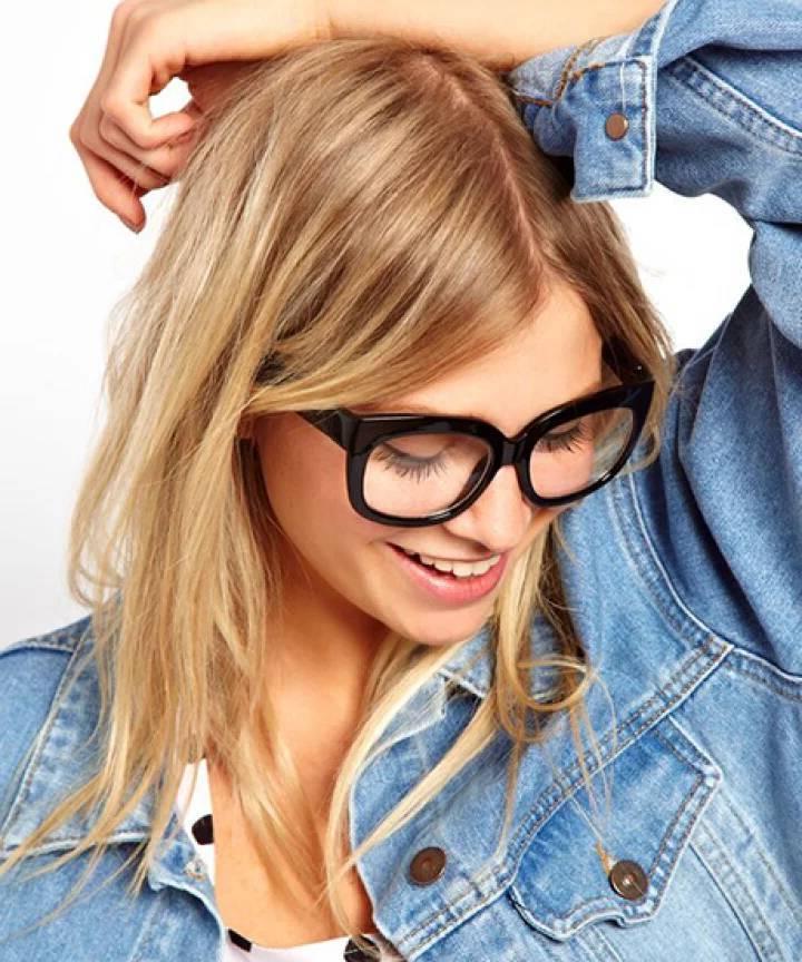 Brillen Trend 2019: Nerd Brillen in schwarz