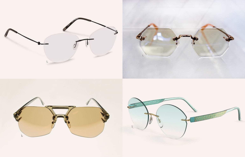 Brillen Trend 2019: Rahmenlose Brillen
