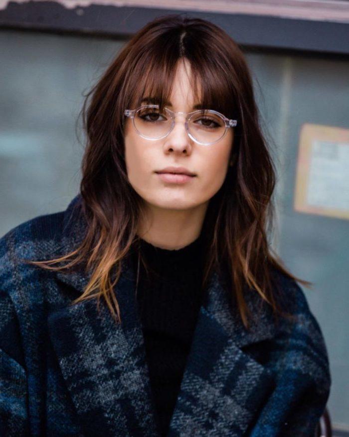 Brillen Trend 2019: Runde Brillen mit Transparenter Fassung