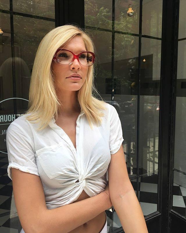 Brillen Trend 2019: Rote Brillen