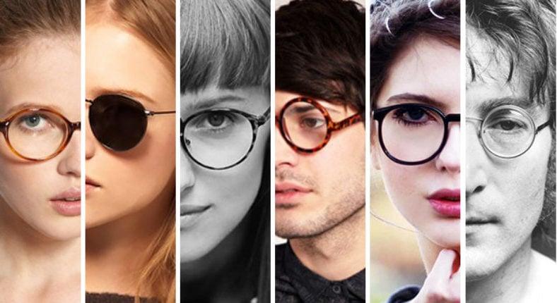 Brillen Trend 2019: Runde moderne Brillen