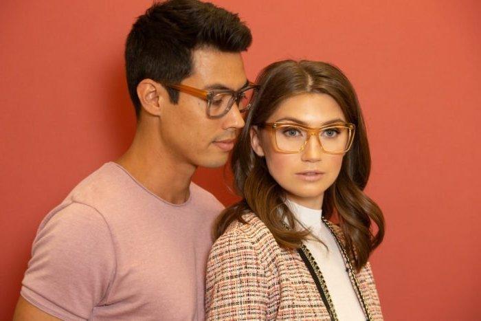 Brillen Trend 2019: Transparente Fassungen aus Acetat
