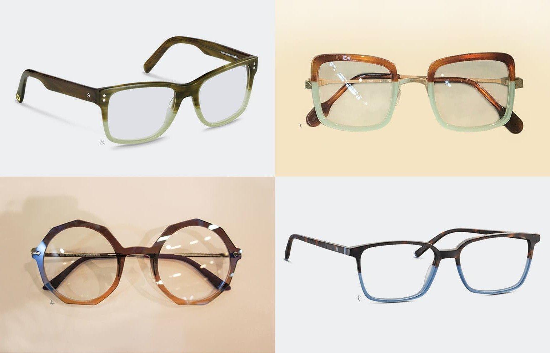 Brillen Trend 2019: Zweifarbig