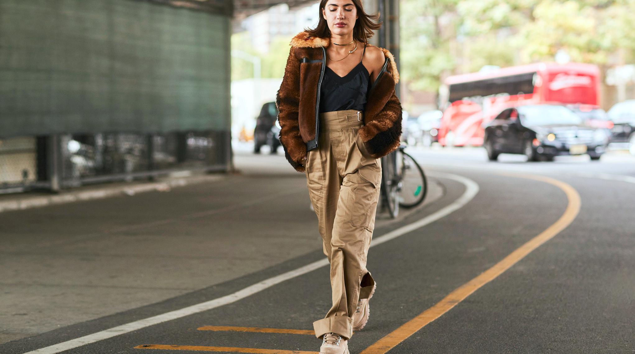 Modetrends 2019 weite Hosen