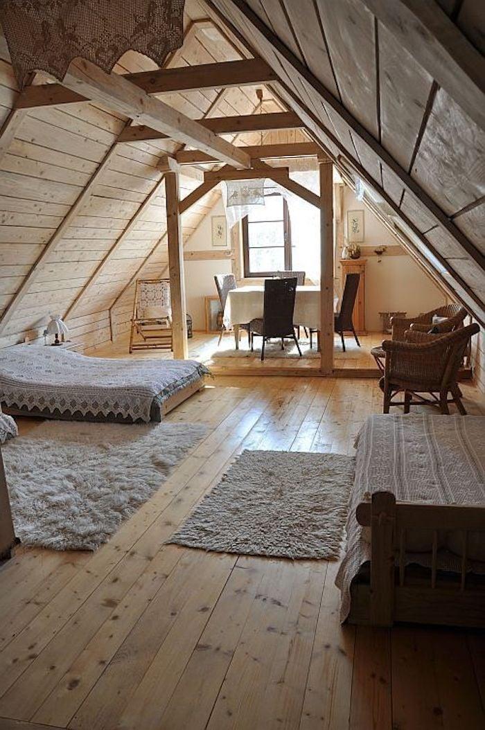Wohnung Dachgeschoss einrichten Tipps und Ideen