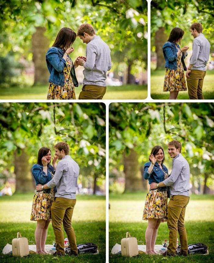 Hochzeitsantrag machen Ausflug Fotograf mieten