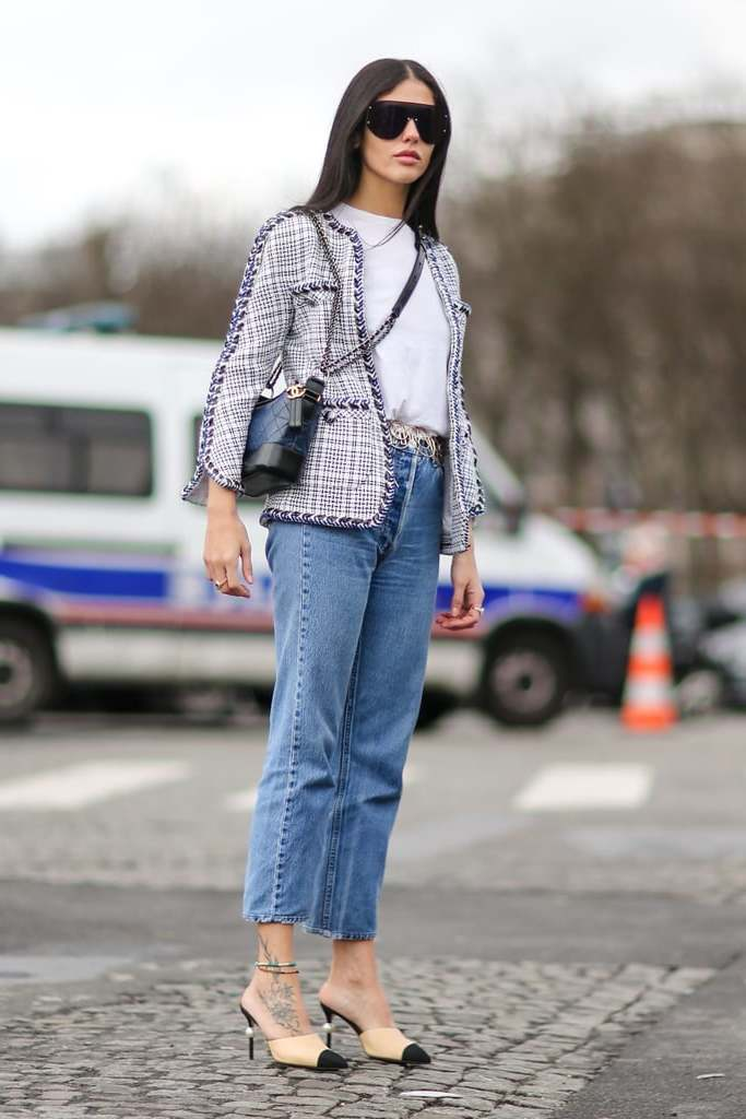High Waist Jeans - Kasual Outfit Ideen mit Levis Jeans