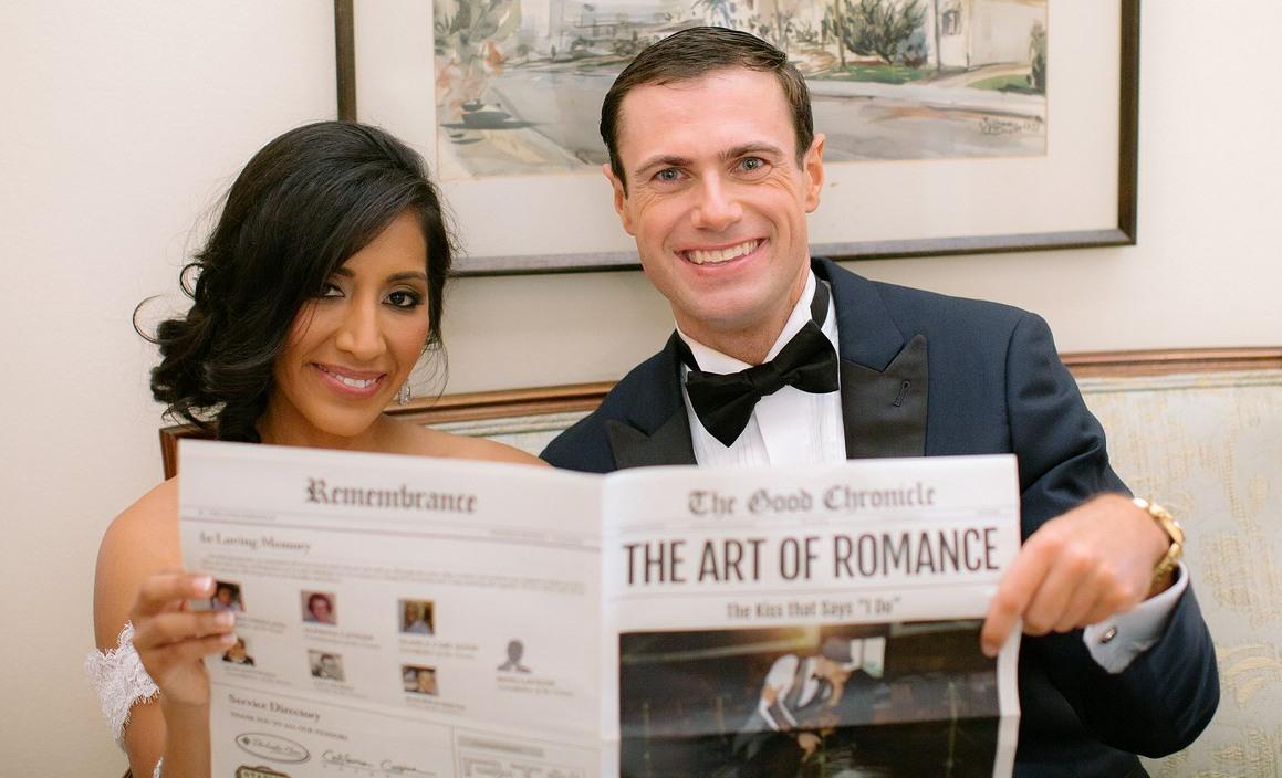 Ideen für Hochzeitszeitung als Hochzeitsprogramm zum Selbermachen