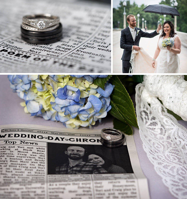 DIY Hochzeit mit DIY Dekoration - Hochzeitszeitung Ideen für Hochzeitsprogramm