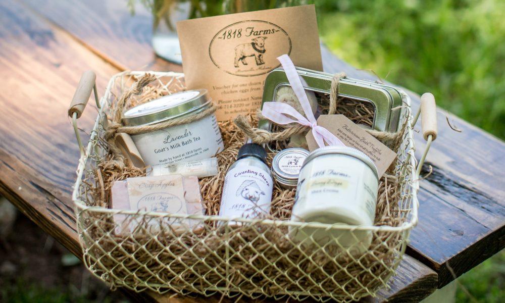 Ideen zum Muttertag - Geschenkkorb als Mutertagsgeschenk